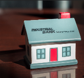 Image of Industrial Bank home stress ball
